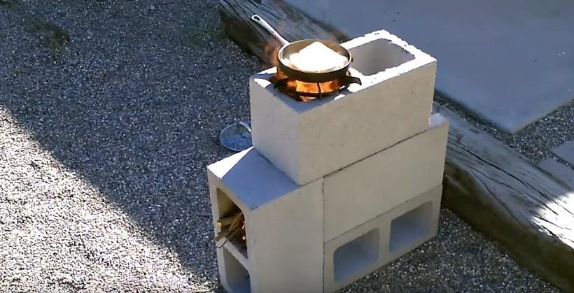 Aprende Cómo Armar Una Estufa Para Cocinar Con Bloques De Cemento Bioguia
