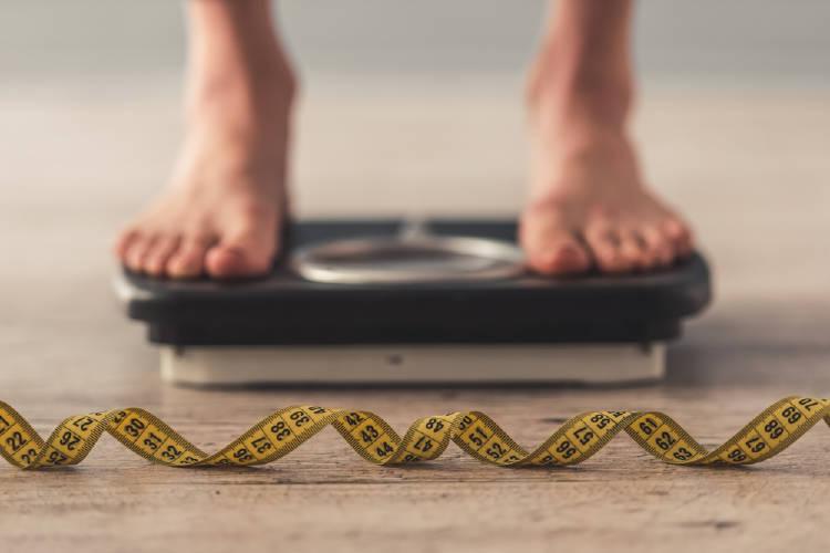 perder peso balanza