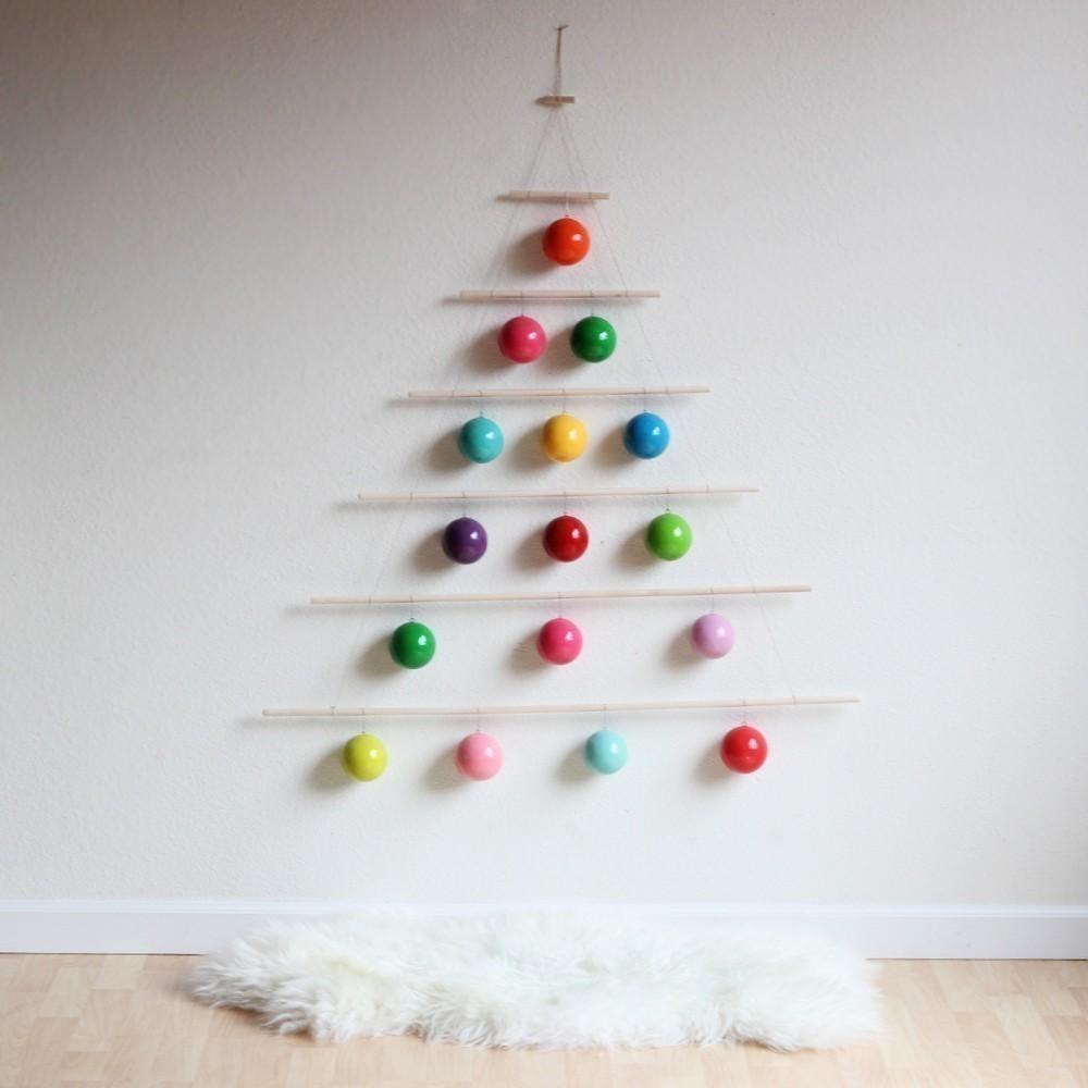 20 Arboles De Navidad Alternativos Para Hogares Con Poco Espacio - Arboles-para-navidad