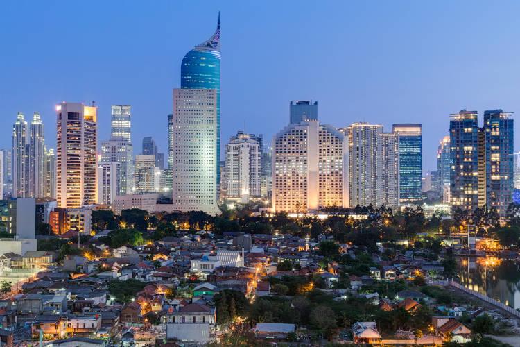 Edificios de Yakarta