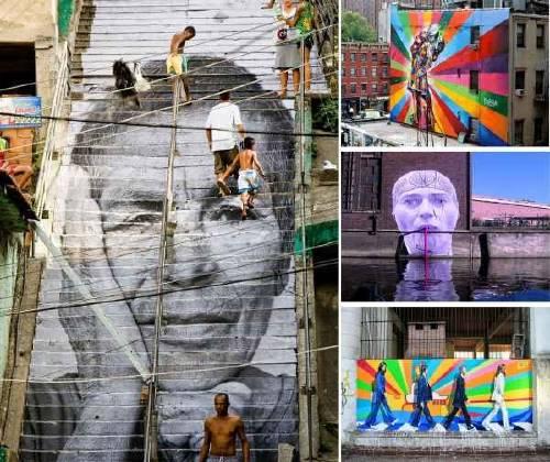 Increíble Arte callejero en 20 ciudades del mundo