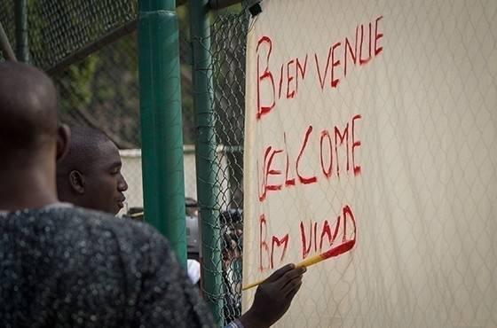 Los refugiados tienen una nueva oportunidad en esta escuela de idiomas ¡en la..