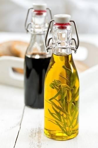 Cómo hacer aceites saborizados