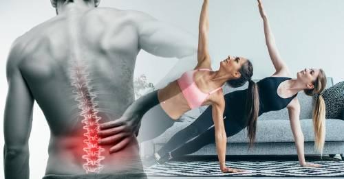 4 ejercicios fáciles y efectivos para aliviar el dolor de espalda