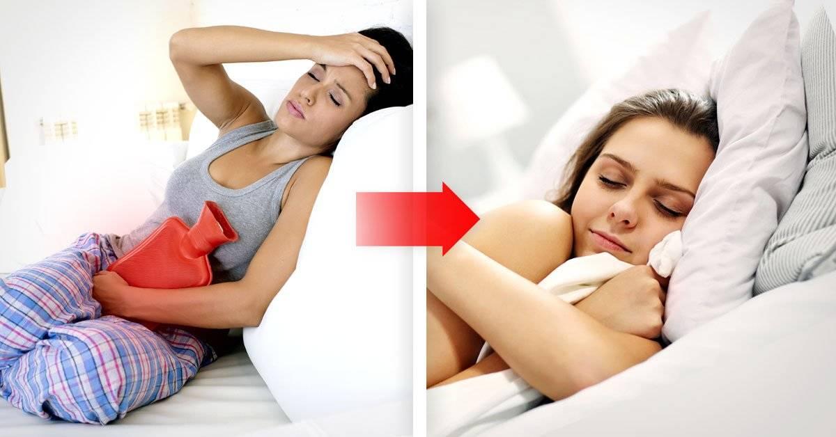 ¿Qué sucede cuando tienes calambres menstruales?