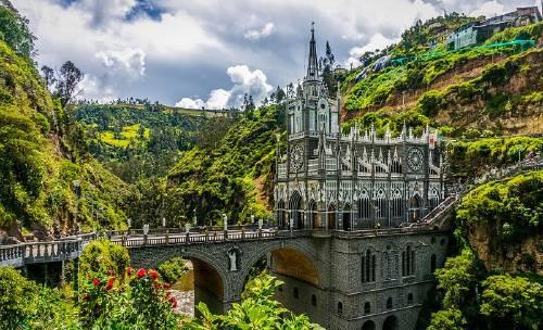 Estas 3 iglesias de Colombia son verdaderamente sorprendentes