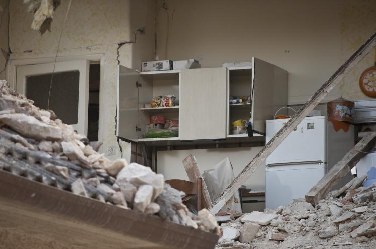 sismo escombros