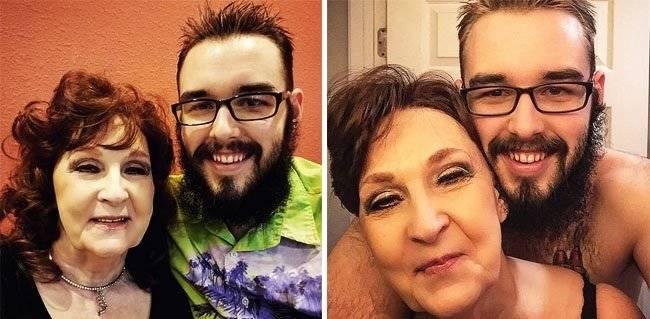Una mujer de 72 años dice haber encontrado el amor verdadero en su marido de 19
