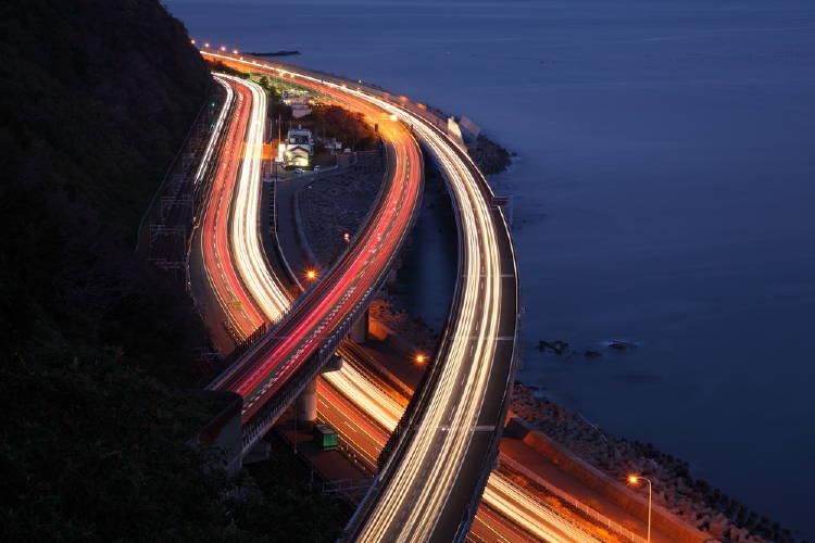 carreteras en japon