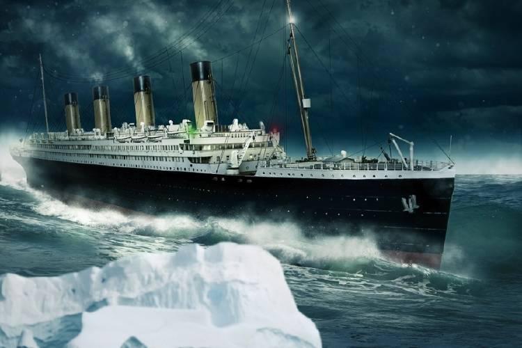 titanic hundimiento naufragio
