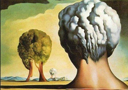 qué ves cabezas o árboles