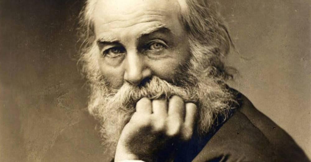 El poema de Walt Whitman que más se comparten los amigos para recordarse que ..