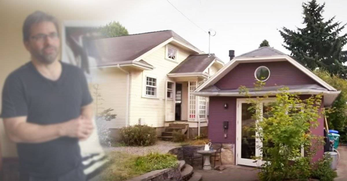 Este hombre transformó su garaje en un hogar completamente funcional para su madre