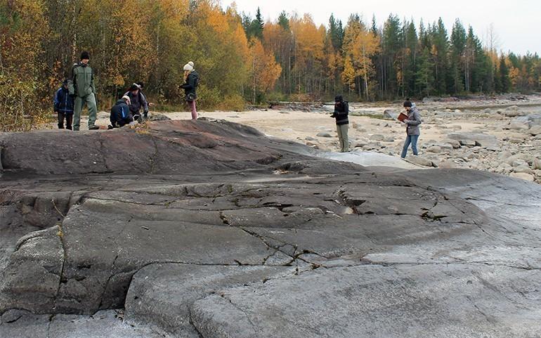 El yacimiento fue encontrado en la cuenca del río Onega en Rusia