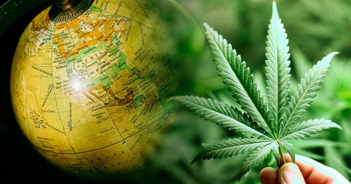 Estos son los países en los que es legal la marihuana