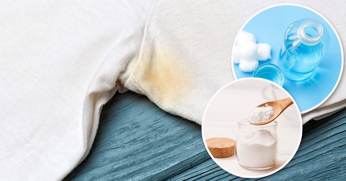 Este hack te ayudará a eliminar las manchas amarillas de sudor con 4 ingredientes caseros