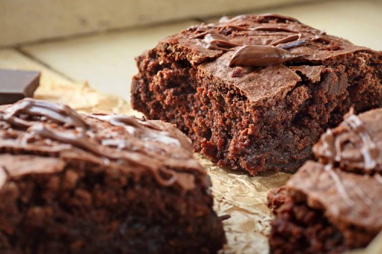 brownie vegano receta