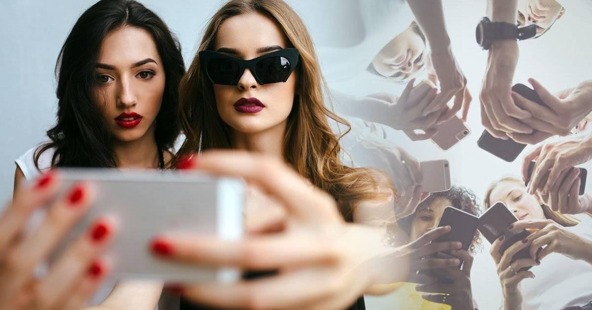 Un experimento demuestra cuánto editan sus selfies los adolescentes