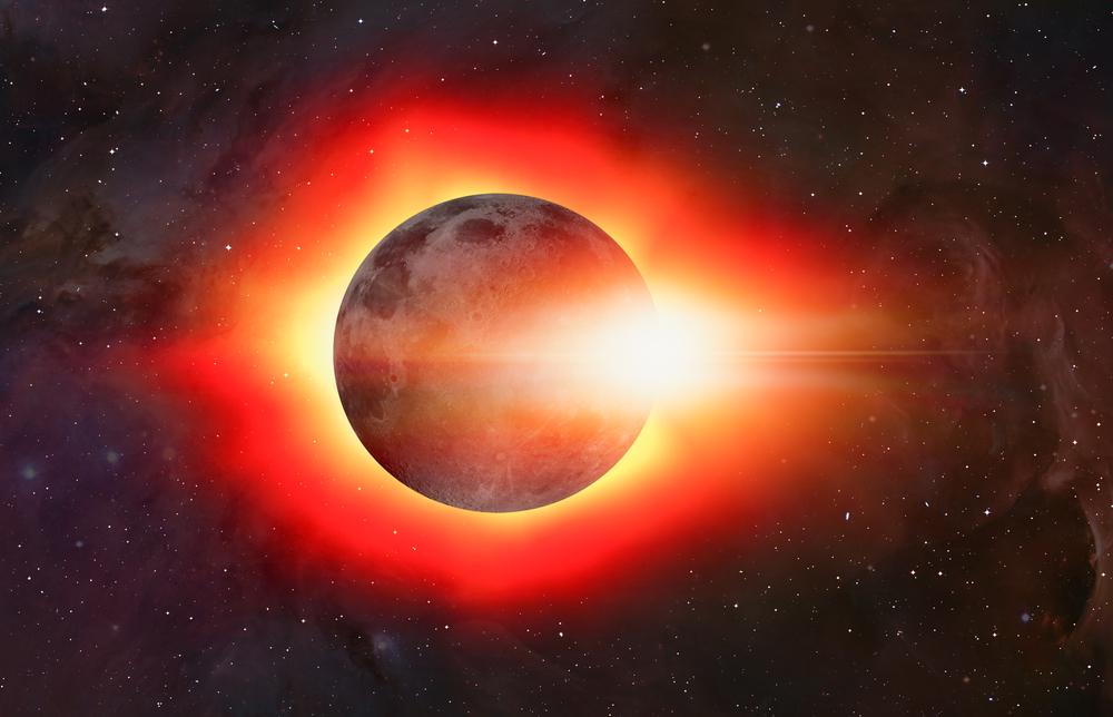 eclipse solare pierde in greutate)