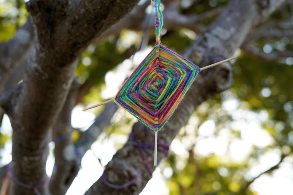 Ojo de Dios: aprende a hacer este amuleto de poder y protección
