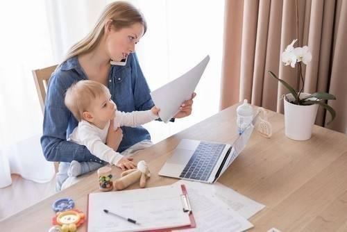 Según un estudio, ser madre es como tener más de dos empleos