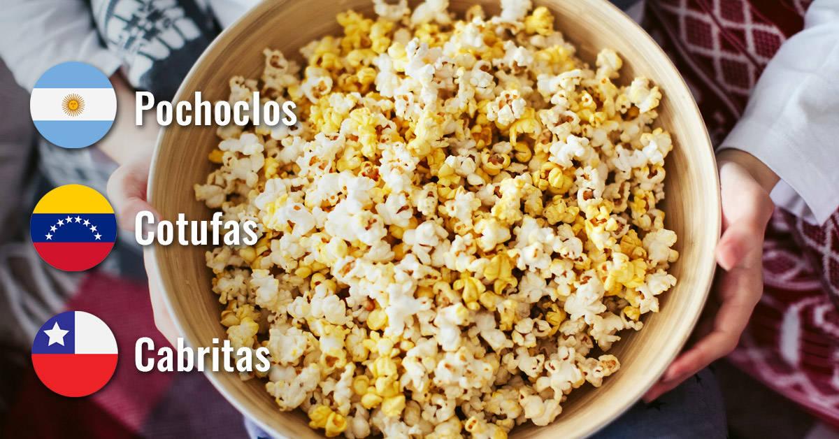 12 cosas cotidianas con nombres distintos en diferentes países latinoamericanos