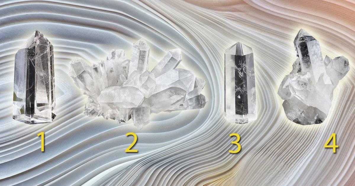 Elige uno de los cristales y descubre lo que expresa tu verdadera esencia