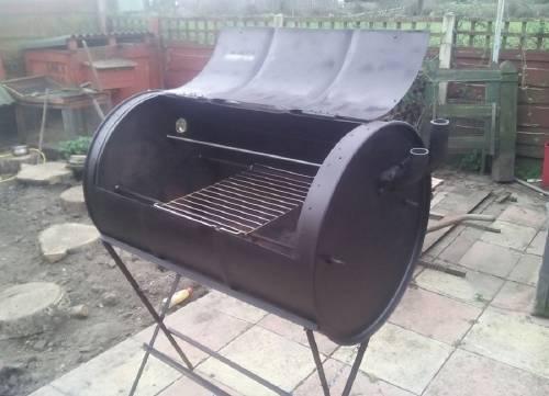 Cómo hacer un horno-parrilla con un barril reciclado