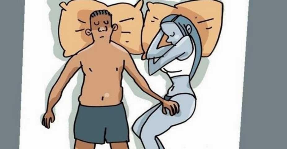 dormir con la pareja