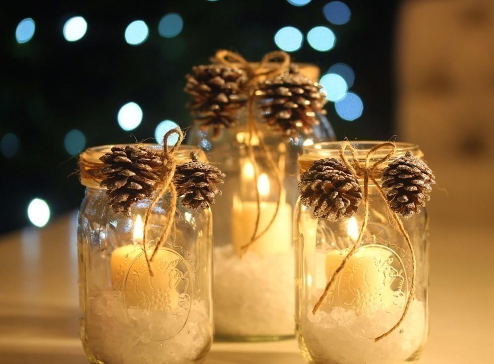 15 Ideas Para Decorar Tus Velas Navidenas - Ideas-para-decorar-velas