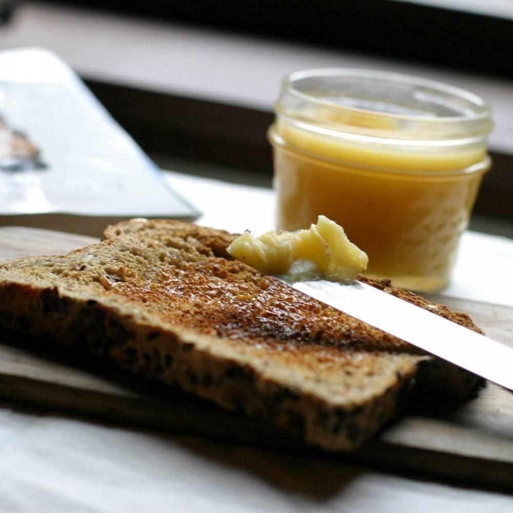 Cómo hacer ghee, una mantequilla sin lactosa