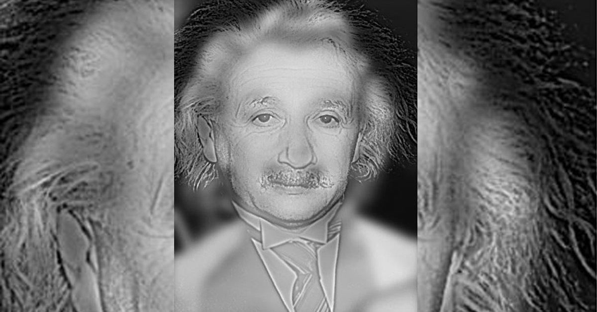 A quién ves en esta imagen  ¿Albert Einstein o Marilyn Monroe  El asombroso  test de visión 988a4ec426d0
