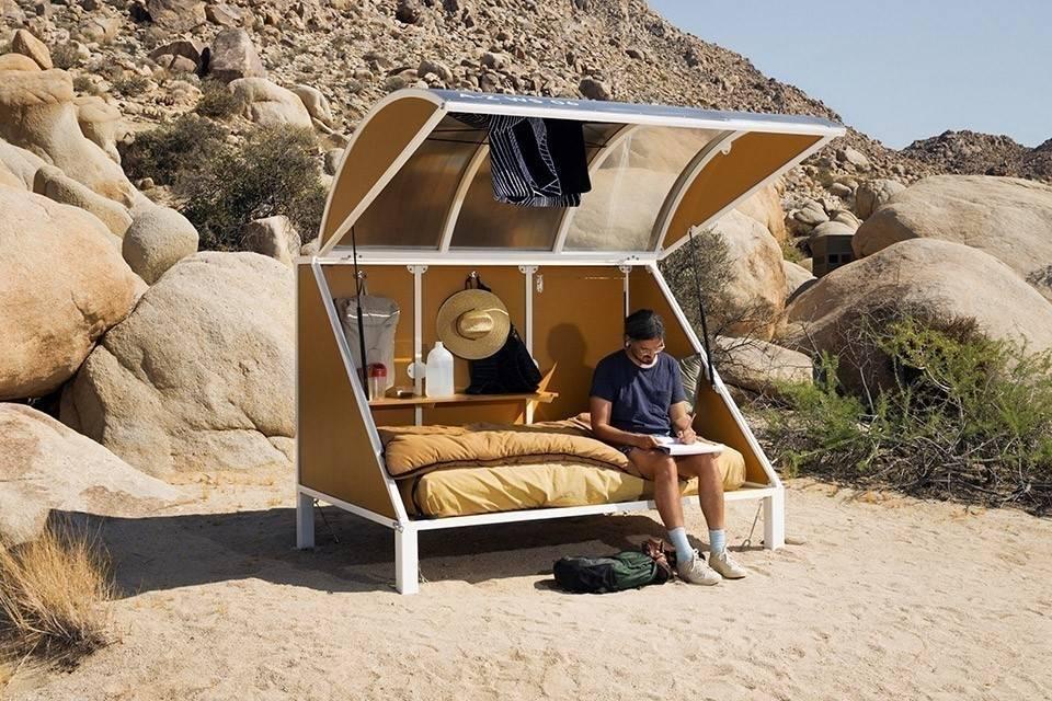 Una cápsula personal para acampar adonde quieras