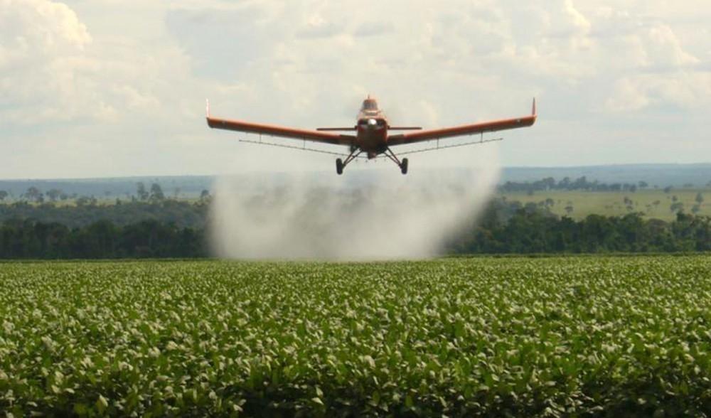 fumigación con agroquímicos