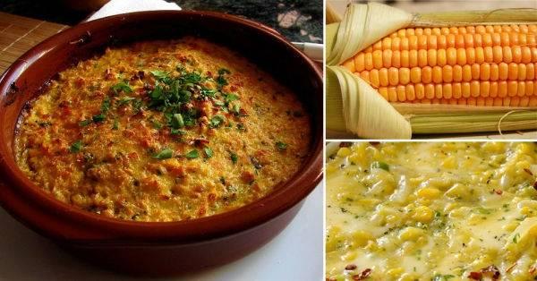 Humita en olla: un cremoso plato caliente a base de choclo