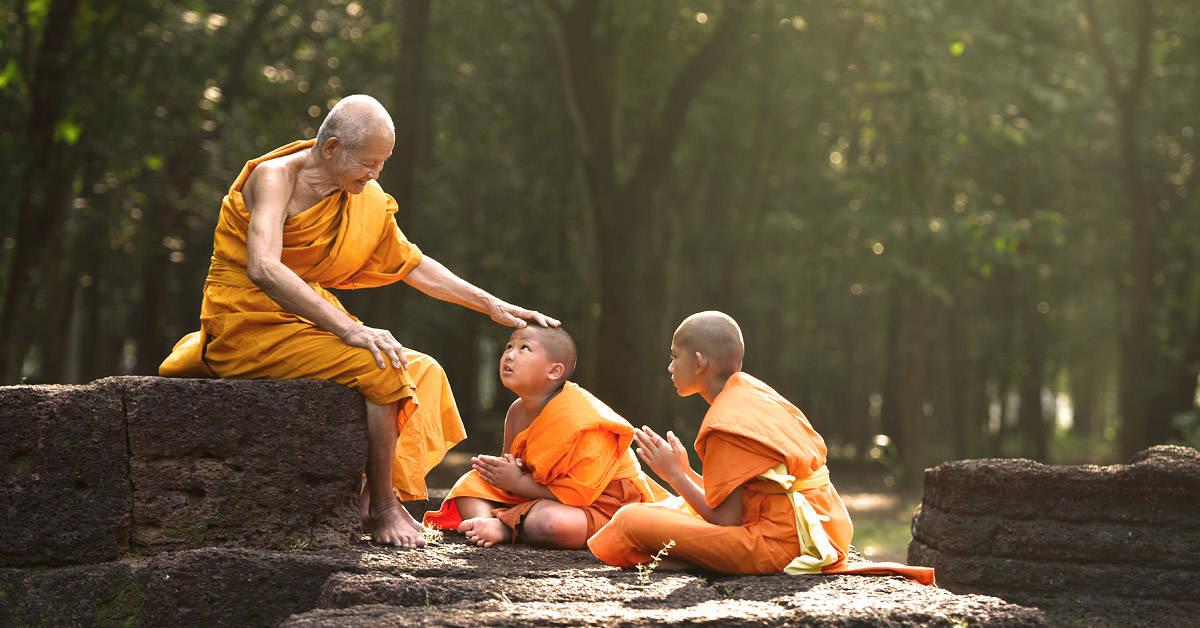4 lecciones de vida de un monje budista que todos podríamos seguir