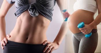 Esta influencer y gurú del fitness te enseña cómo estar en forma durante el embarazo