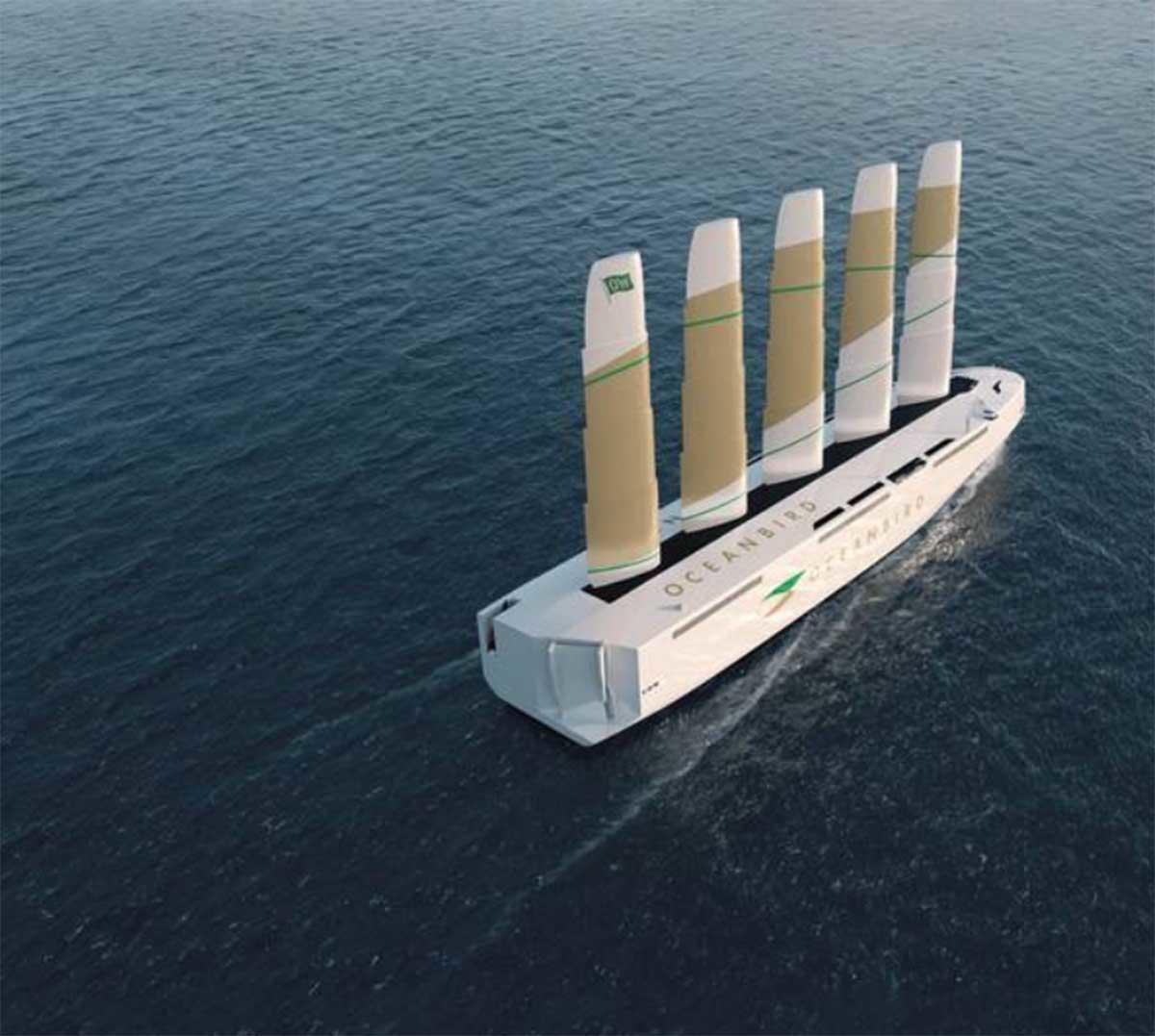 El barco eólico más grande del mundo zarpará en 2024