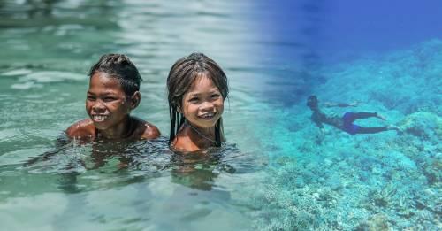 Humanos adaptados a la vida bajo el agua son la prueba de la evolución