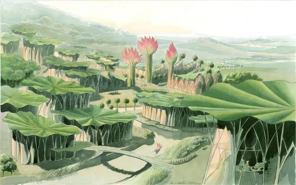 Así son las ciudades vegetales