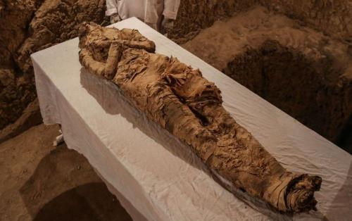Descubren por primera vez una momia egipcia embarazada