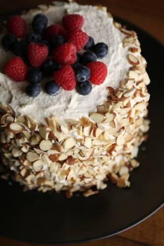Facilísimo pastel de sandía sin cocción