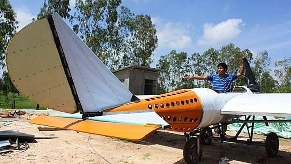 Este hombre construyó su propio avión gracias a tutoriales de Youtube