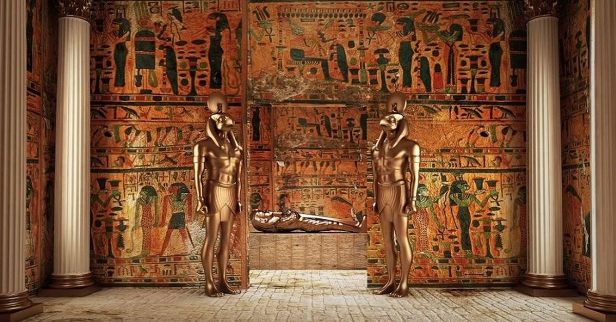 """¿Qué hay en el interior de la tumba del """"guardián de los secretos del faraón?"""