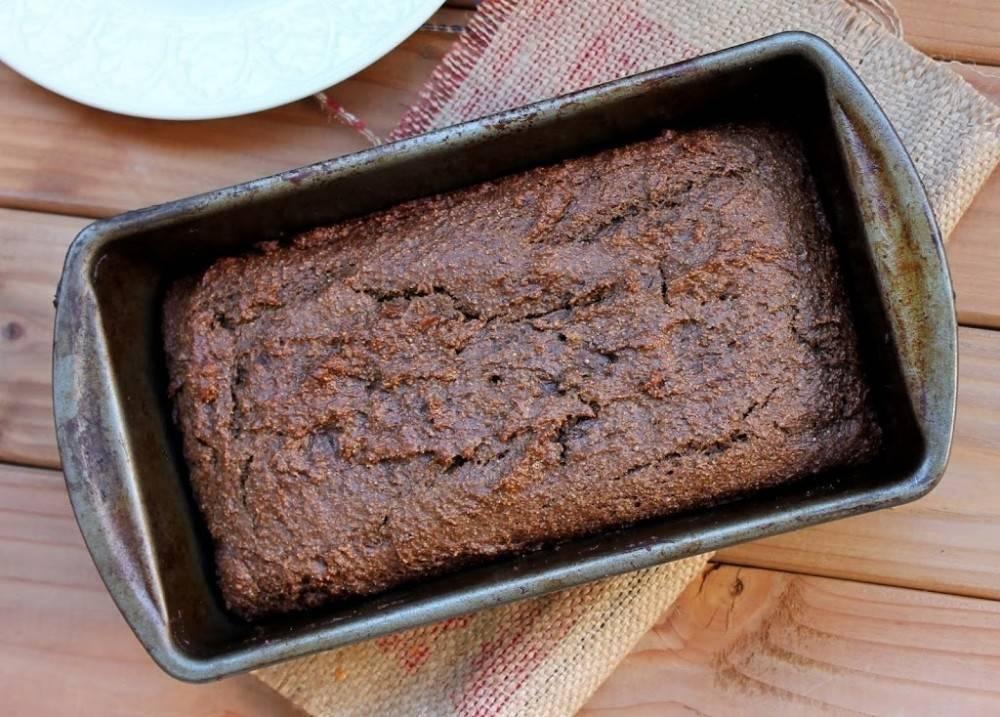 Pan de lino y chocolate ¡sin harinas!
