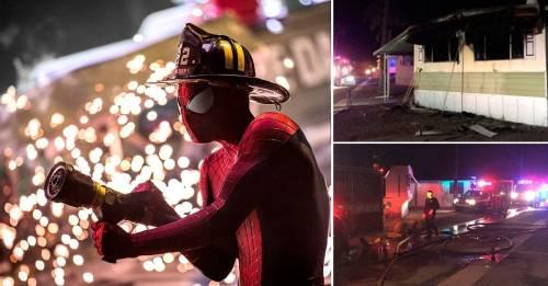 Quiso matar arañas y su casa terminó incendiada