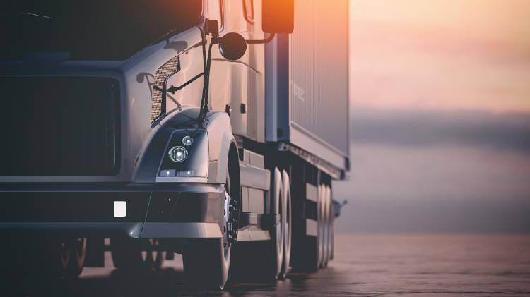 camionero carretera