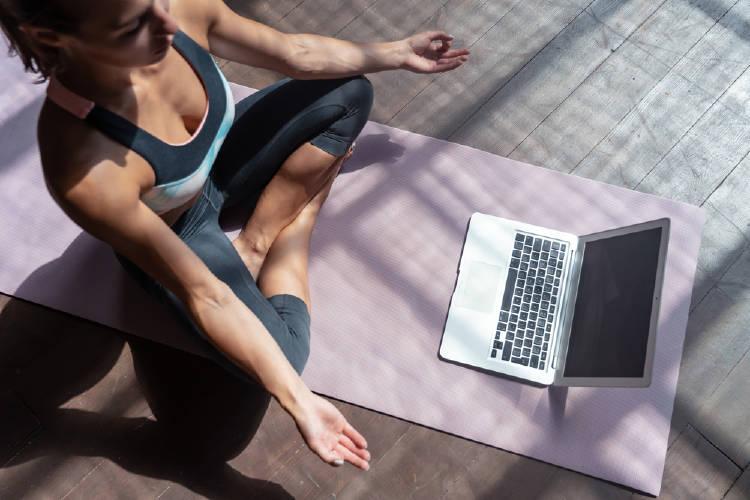 yoga computadora