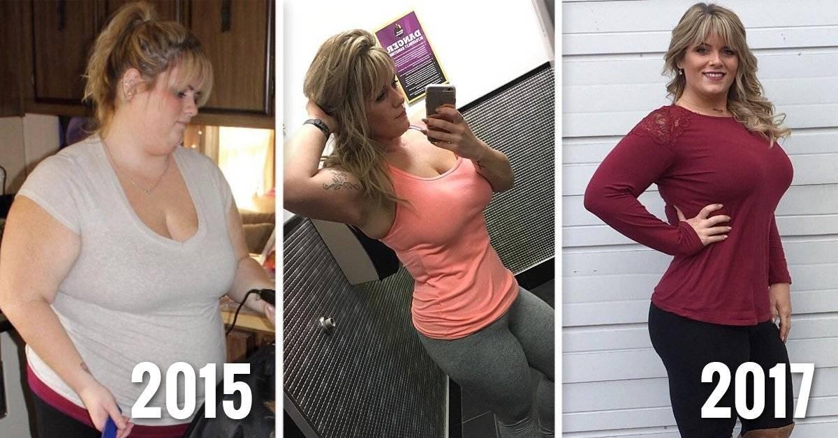 Mujer descubrió un sencillo truco y lo aprovechó para bajar 48 kilos