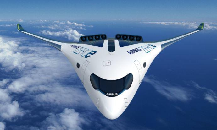 Sin emisiones: Airbus fabricará aviones con propulsión a hidrógeno para el 2035